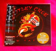 Motley Crue New Tattoo JAPAN SHM MINI LP CD UICY-93500