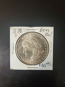 1878 S Morgan Silver Dollar NO RESERVE