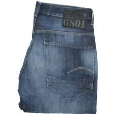 G-Star Radar Men Blue Straight Loose Jeans W34 L32 (47141)