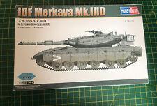 Hobbyboss 1:72 IDF Merkava Mk.IIID (LIC) Tank Model Kit Started