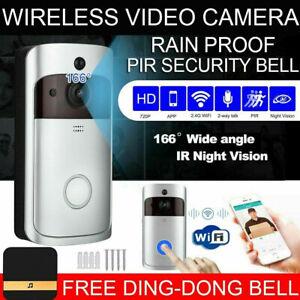 Türklingel Wireless Funkklingel Kabellos Außen WLAN HD WiFi mit Kamera+32GB+Akku