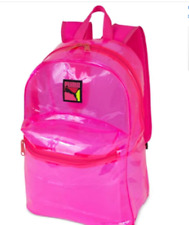 Puma Total Transparent Backpack, Pink PMAM1514-681 NWT