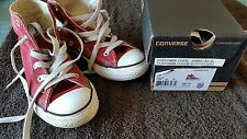 CHAUSSURES CONVERSE  PT 31 ROUGE CHILI BE
