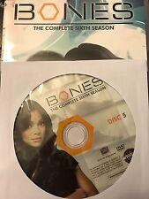 Bones – Season 6, Disc 5 REPLACEMENT DISC (not full season)