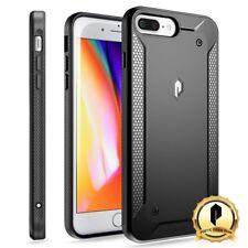 Poetic Apple iPhone 7 Plus / 8 Plus [360 Degree Protection] Case TPU Cover Black