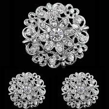 Fashion Jewelry Brosche Deko Basteln Anstecknadel Hochzeit Strassbrosche Tuchhalter Blumenstrauß