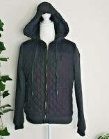 All About Eve Black Hood Long Sleeve Zip Bomber Jacket Size 10