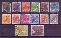 Berlin Rotaufdruck 1949 - MiNr 21/34 - Top-Werte geprüft - Michel 900,00 € (169)