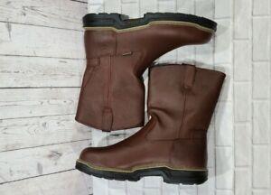 Wolverine Buccaneer Well Steel Toe Work Boots W04826 Brown MENS SIZE 7 M