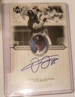 "Frank Thomas Autograph 2000 Upper Deck Legends Chicago White Sox ""The Big Hurt"""