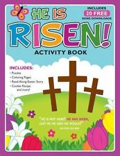 He Is Risen!: Activity Book and Free Album Download [With 20 Free Song Downloads