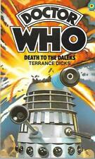 DOCTOR WHO- Death to the Daleks by Terrance Dicks (#20, Paperback, 1984)
