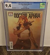 Star Wars Doctor Aphra # 7 1:25 JENNY FRISON Variant Cover CGC 9.4