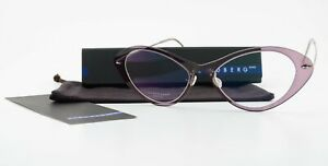 Lindberg Glasses Now 6550 52-17 C19 T803 140 Col P10 Cats Eyes Nylon Titan Lady