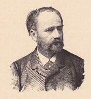Portrait XIXe Émile ZOLA Écrivain Romancier Naturalisme Journalisme Journaliste