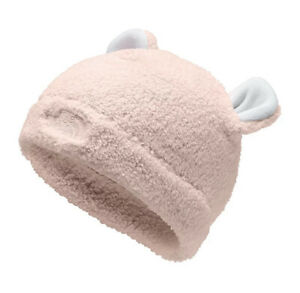 NWT THE NORTH FACE TODDLER BEAR BEANIE PURDY PINK SIZE S (2T-3T)