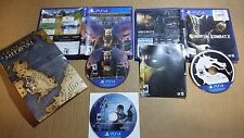 Lot Of 3 PS4 Games President Evil Mortal Kombat X Grand Ages Medieval FREE SHIP