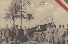 LIBYA ITALY TRIPOLI I FORNI MILITARY 702 FUMAGALLI