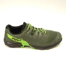 Inov8 Mens Roclite 290 Black Green Athletic Trail Running Light Shoes Sz 11.5