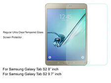 """Regular Ultra Clear/Tempered Glass Screen Protector For Galaxy Tab S2 8"""" 9.7"""""""
