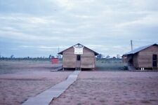 9th Logistic Comm Aviation Dep Building, Korat Thailand 1964 35mm Photo Slide