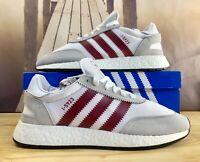 Adidas Originals I-5923 Shoes D97231 White/Burgundy Iniki Men's Multiple Sizes