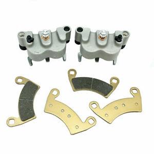 Pair of Front Brake Rotors 2011-2015 Polaris RZR 900//XP 900//S 900 4x4