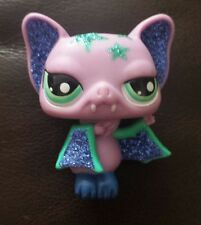 Littlest Pet Shop LPS #2142 Purple Sparkle VAMPIRE BAT