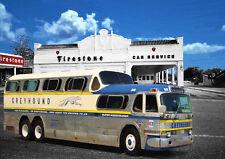 Arte Automotriz-autobuses Greyhound-mano acabado, Edición Limitada (25)