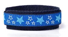 Blue Stars adjustable Nylon Wrist Band for Sport and Comfort.