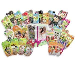 Montagne Jeunesse Face Mask Bumper Pack Cleansing Muds, Detoxifying Set of 25_UK