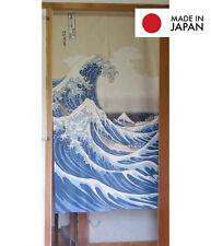 Quality Japanese Door Curtain Ukiyoe Noren The Great Wave off Kanagawa Doorway