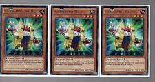 Yugioh Cards -  3 Card Playset - 3x Silver Rare Geargiano MK II REDU-EN027