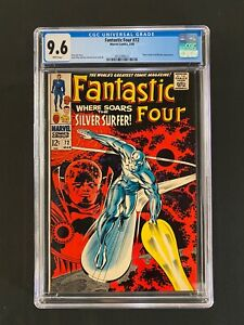 Fantastic Four #72 CGC 9.6 (1968) - Silver Surfer & Watcher cover - WHITE pages