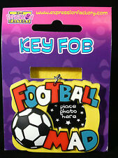 BOYFRIEND GIFTS PHOTO KEY CHAIN FOB FOOTBALL CHRISTMAS GIFTS STOCKING FILLERS