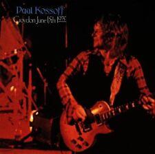 "Paul Kossoff: ""Live in Croydon, June 15th 1975"" (CD)"