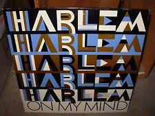 HANK JOHNSON & JAZZ HERITAGE ENSEMBLE harlem on my mind ( jazz ) TOP COPY - RARE