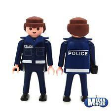 playmobil® Grundfigur: Polizei | Police mit Kragen und Pistolenhalfter