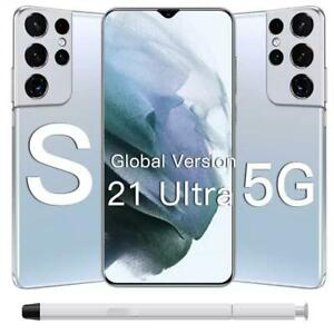 "S21 ULTRA 5G 8GB+256GB 6.7"" ANDROID 11 6800mAh 32MP+50MP SMARTPHONE UNLOCKED NEW"