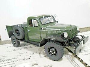 "Danbury Mint 1:24 1946 Dodge Power Wagon ""Seawolf Green"" W/ Papers!"