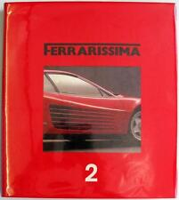 FERRARISSIMA 2 MADARO GIANCENZO CAR BOOK LIMITED EDITION