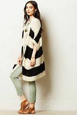 Giro Cardigan By Essentiel Antwerp Size M, Long Open Front Sweater Anthropologie