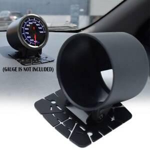 "Gauge Pod 52mm 2"" Universal Single Hole Swivel Mount Holder Dashboard Meter Cup"