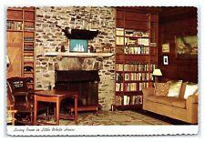 Postcard Living Room in Little White House, Warm Springs, Georgia GA K21