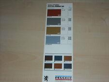 46900) Peuget 305 Farben & Polster Prospekt 02/1978