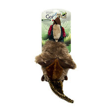 Gor Pets Wild Pheasant Dog Toy | Fur Squeaky Realistic Natural Animal Stuffed