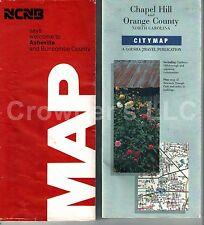 Vintage Maps: Ncnb Asheville/Buncombe & CityMap Chapel Hill/Orange County