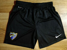 Nike FC Malaga Football Soccer Mens Shorts Black Spain Dri-Fit