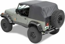 Pavement Ends Emergency Top Quick Protection 04-06 Jeep Wrangler Unlimited Black