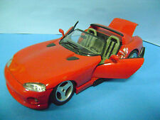 BURAGO VIPER RT 10 DODGE 1/18 metallo